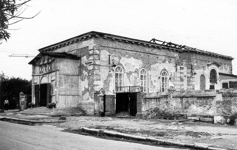 Развалины Никольской церкви