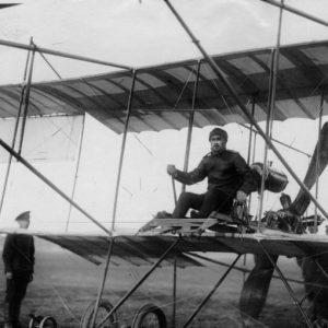 Г. Г. Горшков перед полетом