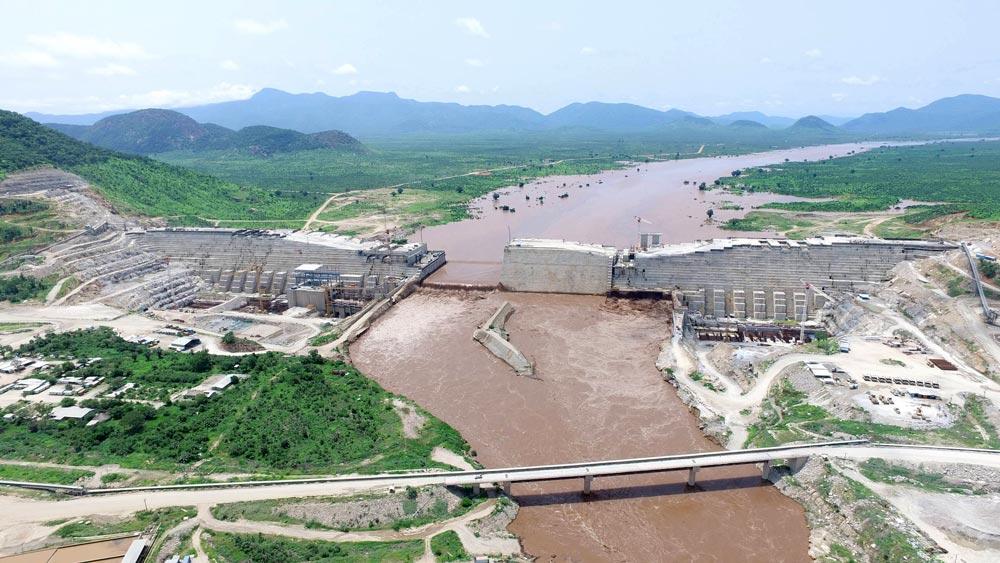 Плотина на Ниле в Эфиопии