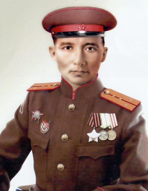 Прадед Кажгали Сатенов