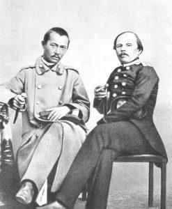 Чокан и Ф. Достоевский