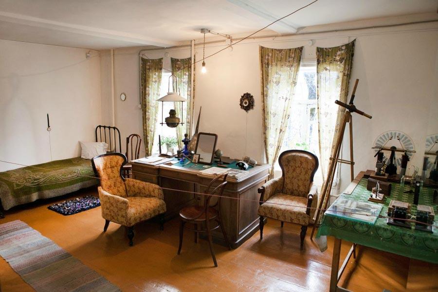 Мемориальный Дом-музей Циолковского в Калуге