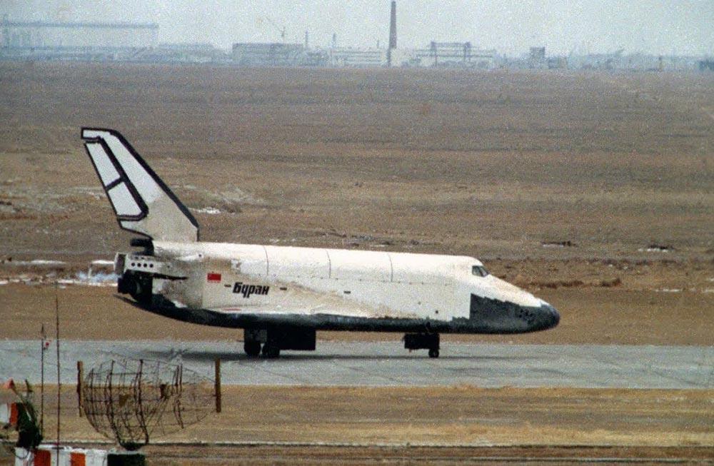 Посадка корабля «Буран» 15 ноября 1988 года