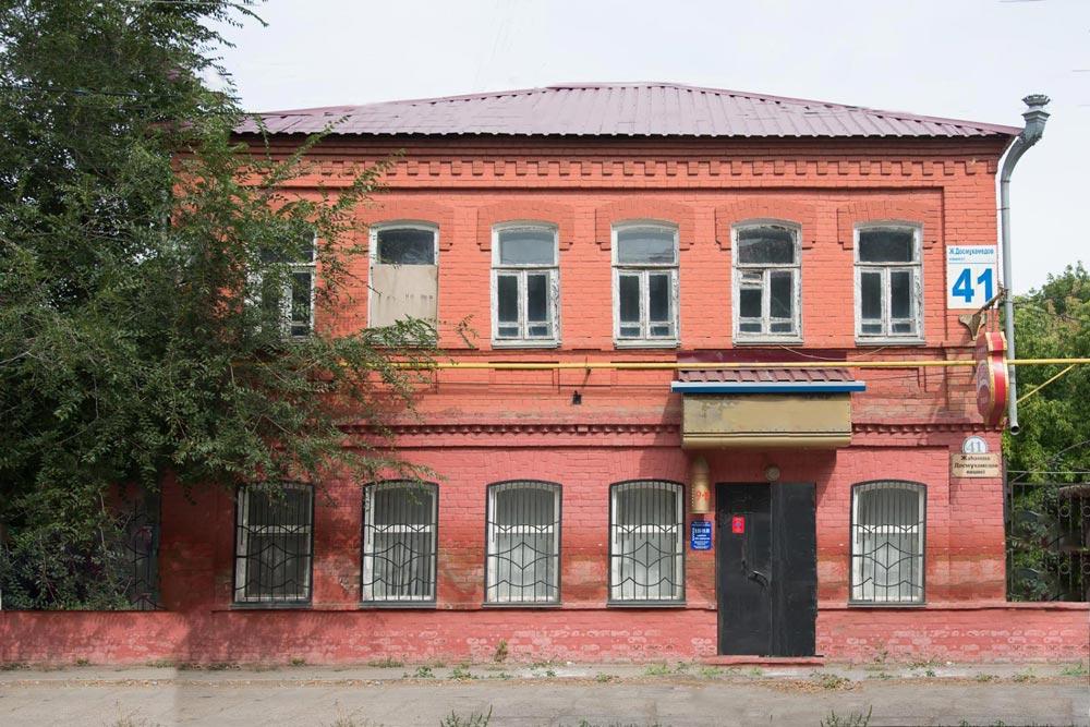 Дом Кондрахина, в котором размещалось фотоателье А. Вершкова