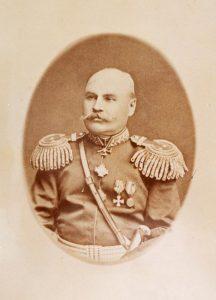 Генерал-майор Василий Радионович Серов. Уральск, 1885 г.
