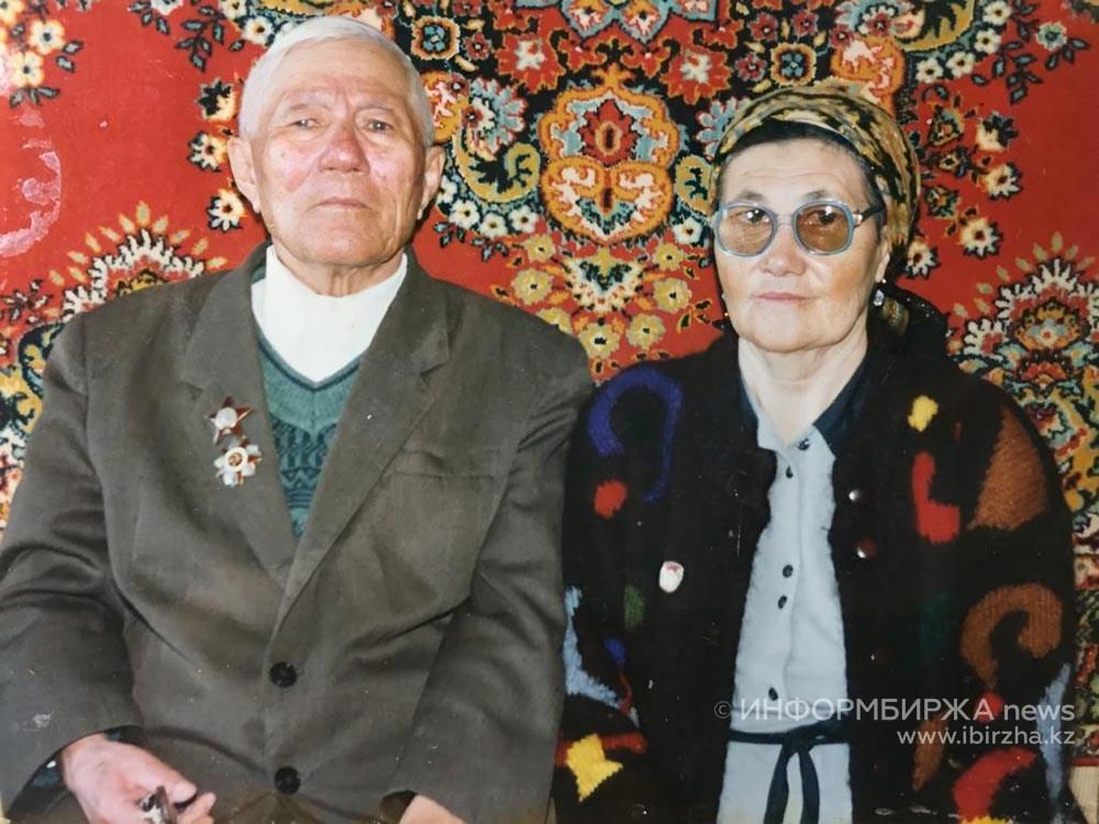 Прадедушка с прабабушкой