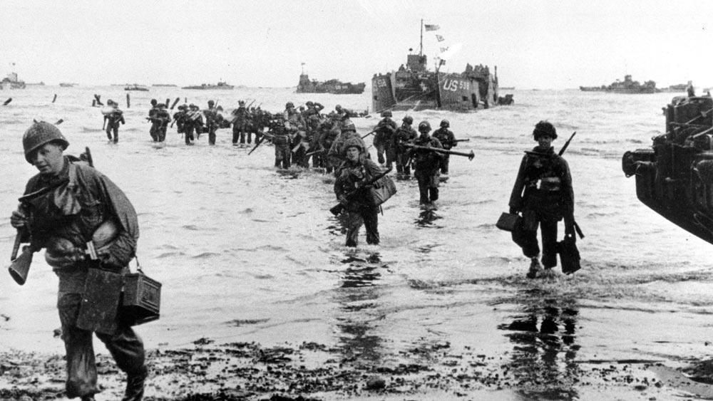 Высадка англо-американских войск в Нормандии 6 июня 1944 г.
