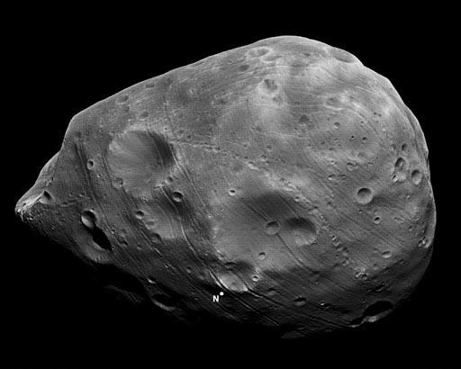 Спутник Марса – Фобос