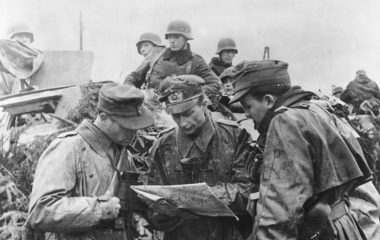 Боевые действия немецких войск в Арденнах